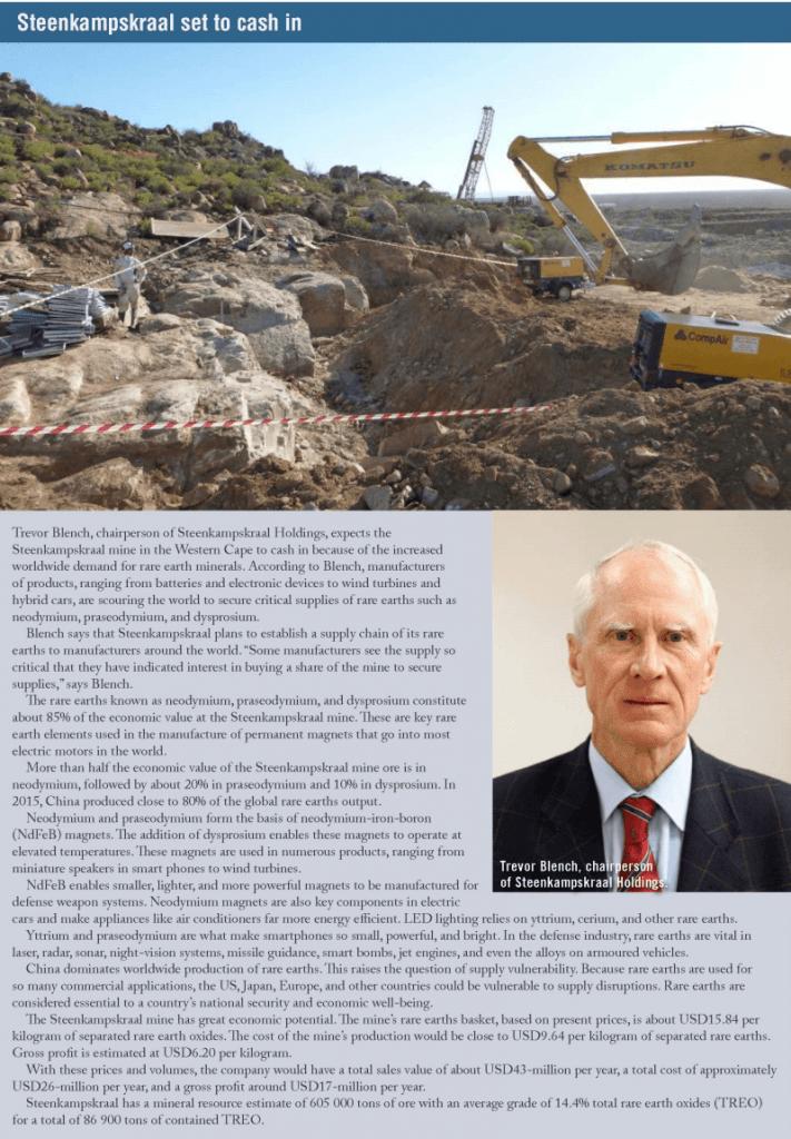 rare earths press coverage